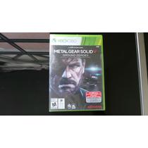 Metal Gear Solid 5 Xbox 360