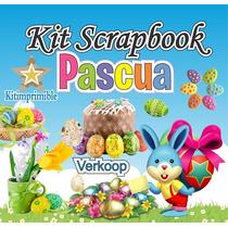 Kit Scrapbook Pascua Imagenes Png, Frames Cliparts Scrap