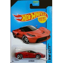 2014 Hot Wheels Hw Ciudad 38/250 - Ferrari Laferrari