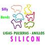Ligas Silicon Pulseras Silicon Anillos Silly Bandz Calidad