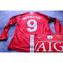 Manchester United 2008/09 Berbatov Manga Larga 100% Original