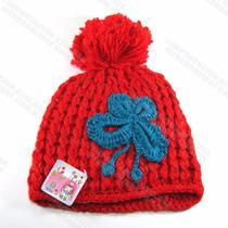 Ropa Asiática Moda Coreana Gorras Tejidas Pompom Crochet