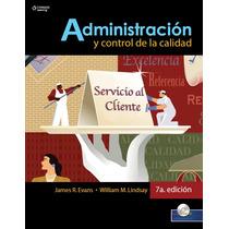 Libro: Administración Y Control De La Calidad Pdf