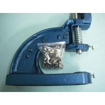 Maquina Remachadora Y Ojilladora Manual Estoperol Broche