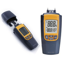 Termohigrometro Medidor Humedad Temperatura Madera Cemento
