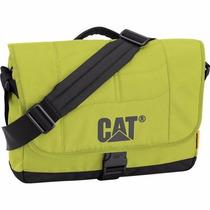 Backpack Mochila Messenger Laptop Caine Verde Cat Viaje