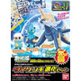 Pokemon Oshawott Dewott Samurott Evolution Set Bandai Omm