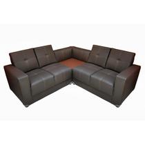 Sala Lounge Minimalista Esquinera Love Seat Taburete Sofá