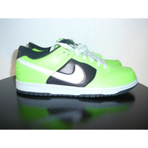 Nike Dunk Low Lea 9 Y 10 Us, 6 Y 7 Mx, 26 Y 27 Cm