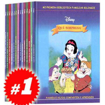 Mi Primera Biblioteca Familiar Bilingüe Disney 14 Vols