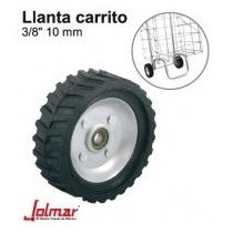 Llanta Jolmar Sin Cámara P/carrito Diablo 4 1/2 A 9 Pulgadas