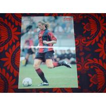 Poster Emanuel Petit Barcelona 2000-2001 Don Balon