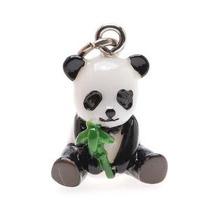 Pintado A Mano 3-d Panda W / Bamboo Encanto 19mm Peso Ligero