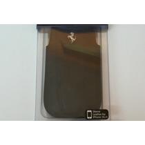 Funda Celular Scuderia Ferrari Negro Piel Iphone 3g/4