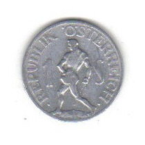 1 Schilling 1946 Moneda De La Republica De Austria - Vbf