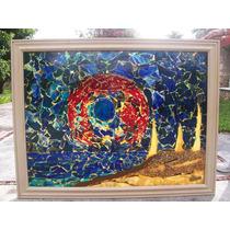 Vitral Decorativo Con Vidrio De Color