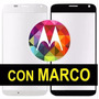 Cristal Touch Moto X X1 Con Marco Xt1053 Xt1058 Gorila Glass