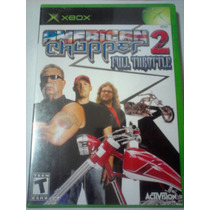 American Chopper 2 Full Throttle Para Xbox Motos Chopper Wow