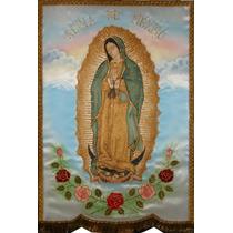 Virgen De Guadalupe Estandarte Y Otras Imágenes.