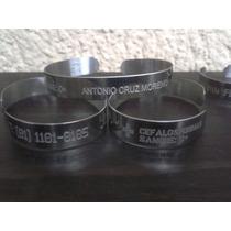 54ba55f56c29 Pulseras brazaletes Acero Inoxidable Identificación Personal en ...