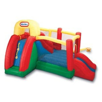 Brincolin Littletikes Inflable Brinca Escaladora Tobogan Maa