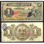 Bk-df-20 Billete Del Banco De Londres Y Mexico  De 1 Peso