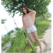 Suku 11606 Blusa Tipo Chal Tejida Elegante Moda Asia $439