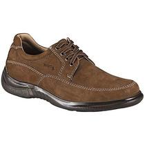 Zapatos Casuales La Pag 5000 Olivo Piel Pv