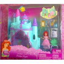 Princesa Ariel Set Mini De Casita Muneca Y Accesorios