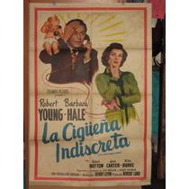 La Cigüeña Indiscreta, Robert Young, Barbara Hal Poster 1949