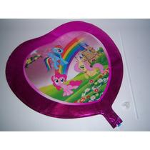 Globos Metalicos Helio 18/pulg 46/cm My Little Pequeño Pony