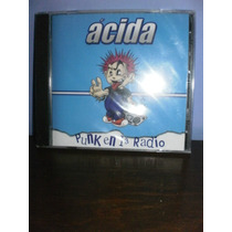 Acida- Punk En La Radio Cd Nacional Nuevo Y Sellado !