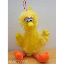 Peluche De Big Bird Abelardo Montoya Plaza Sesamo 23 Cm Mp19