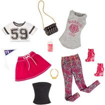 Barbie Moda Look Completo Paquete De 2 Deportivo Cfy07 - Ro