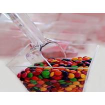 Dulceros Y Cucharón Plástico Catering Mesa Candy Bar Xv Años