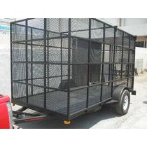 Remolque Jaula Malla Camionetas Camiones Pet Mex