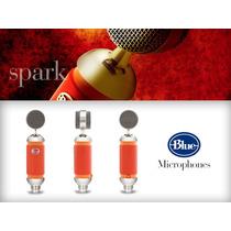 Blue Spark Microfono De Condensador Para Estudio Profesional
