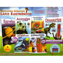 Enciclopedia Interactiva Lapiz Electronico 6 Vol+lapiz Elec