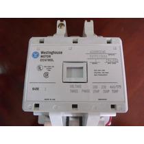 Westinghouse A200m3cac Motor Starter Control, Modelo J