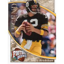 2009 Upper Deck Heroes Legend Terry Bradshaw Steelers Qb