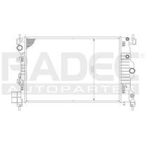 Radiador Chevrolet Aveo 2012-2013-2014 L4 1.6 Lts Estandar