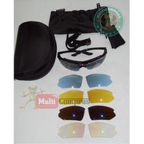 Goggle Deportivo Moto Pa Graduar 5 Micas Intercambiables Ms