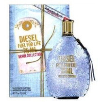 Flr Perfume Diesel Fuel For Life Denim Collection Dama (75ml