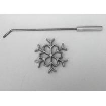 Molde Buñuelos De Viento Copo De Nieve (1) Con Receta Fácil