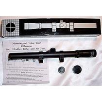 Mira Telescopica 4 X 20 Rifle Ballesta Co2 Etc