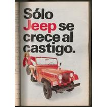 Revista Con Anuncio Publicidad Jeep Autos Vam De 1975 Nvb
