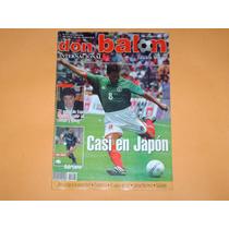 Revista Garcia Aspe Seleccion Mexicana 2001 Don Balon