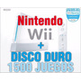 Nintendo Wii Con Disco Duro +1500 Juegos Todo Incluido Msi
