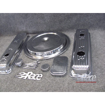 Chevrolet 1500 Pick Up 88-91 Kit Cromado Para Motor Tbi