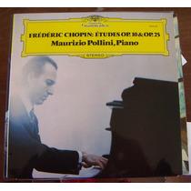 Clásica,frédéric Chopin,maurizio Pollini,piano Lp12´